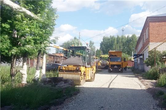 В поселке Ибреси ведется капитальный ремонт дворовых территорий