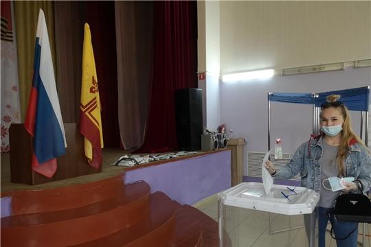 В Ибресинском районе голосование завершено. Идет подсчет голосов
