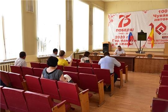 Состоялось совещание по вопросам развития ЖКХ Ибресинского района