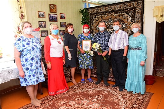Состоялось чествование образцовых семей Ибресинского района