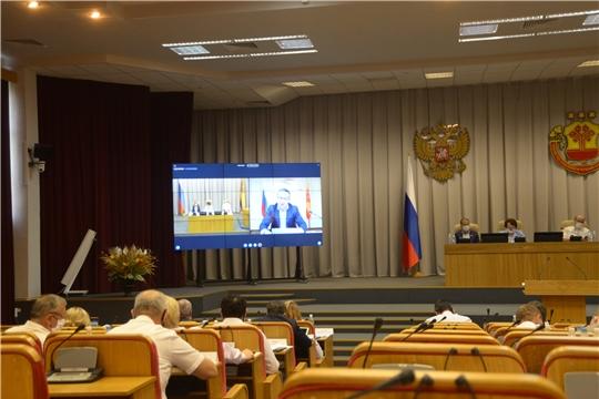 Законодательная инициатива Александра Яковлева поддержана депутатами Госсовета Чувашии