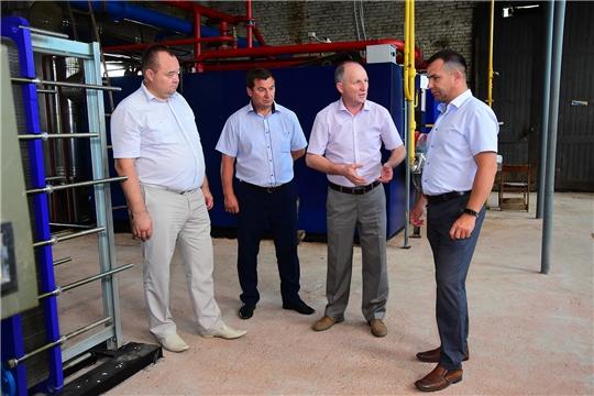 Ибресинский район делится опытом работы с Красночетайским районом в сфере ЖКХ