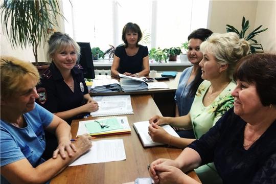Состоялось заседание комиссии по делам несовершеннолетних