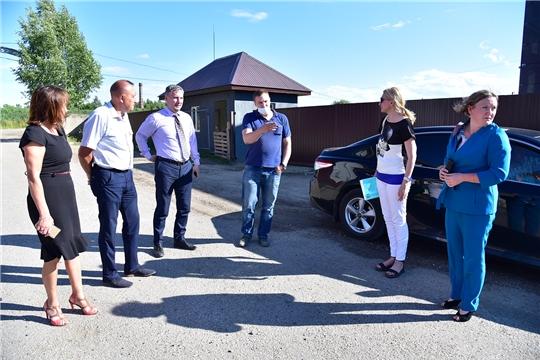 Сергей Лекарев с рабочим визитом посетил ряд предприятий Ибресинского района