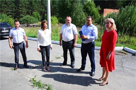 Руководитель Госслужбы Чувашии по конкурентной политике и тарифам Надежда Колебанова посетила Ибресинский район