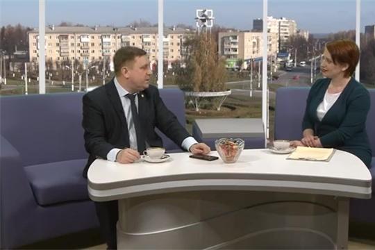 Наша Тема - Министр цифрового развития, инф. политики и массовых коммуникаций ЧР Михаил Анисимов