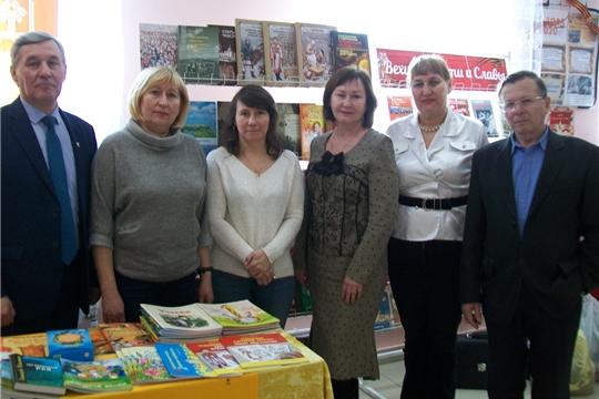 Встречи с читателями в Комсомольском и Красноармейском районах