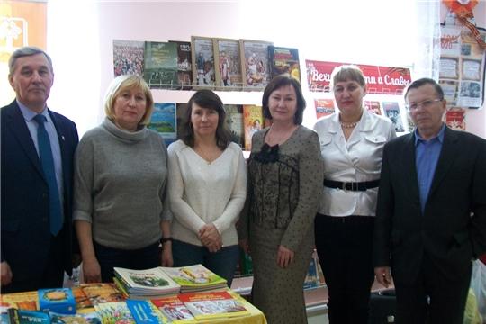 Чувашское книжное издательство продолжает встречи с читателями