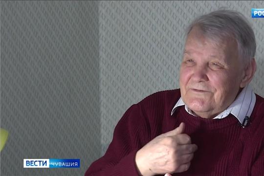 """Свое 90-летие отмечает ветеран ГТРК """"Чувашия"""", поэт и писатель Петр Маркин"""