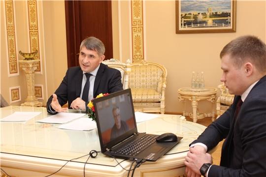 Олег Николаев ответил на вопросы ИА «Интерфакс»