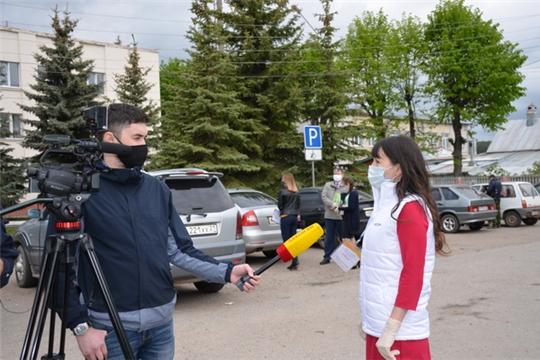 Рейд по соблюдению масочного режима в г. Козловка