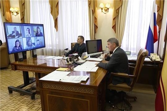 Врио Главы Чувашии Олег Николаев провел пресс-конференцию