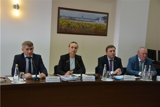 Круглый стол по обсуждению проекта подпрограммы «Сохранение, изучение и развитие чувашского языка»