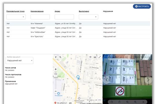 «Мобильный контролёр» зафиксировал около 100 нарушений «антиковидных» мер в Чувашии