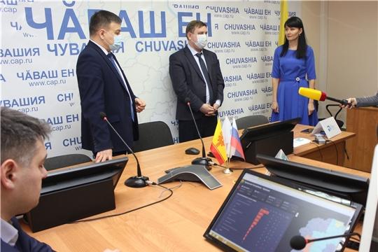 Михаил Анисимов принял участие в открытии Центра управления регионом