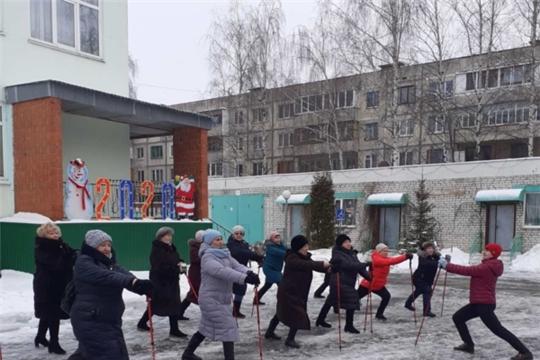 «Рождественская круговерть»: в комплексном центре соцобслуживания населения проходят спортивные мероприятия