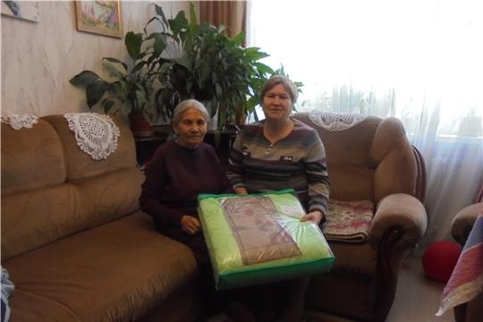 Жительница Калининского района отметила свой 90-летний юбилей