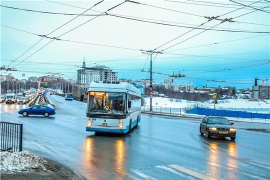 Троллейбус №100 в направлении Чебоксары – Новочебоксарск начал регулярные рейсы