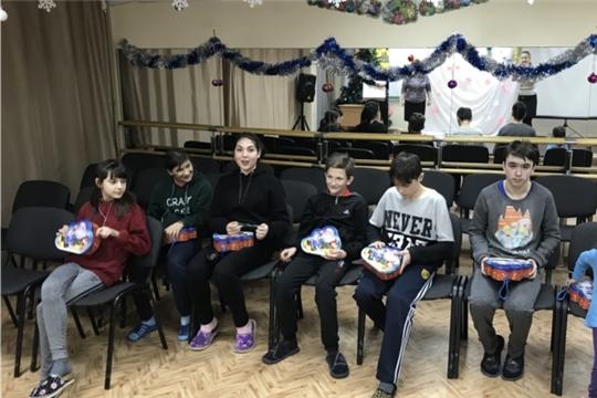 В чебоксарском центре для детей-сирот прошло мероприятие, посященное Старому Новому году
