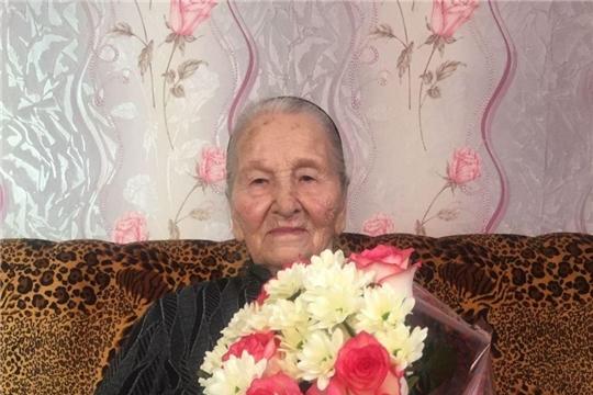 Жительница Калининского района отметила свой 95-летний юбилей