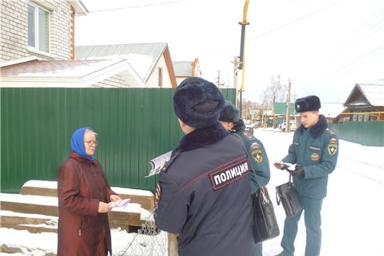 Жителям Калининского района города Чебоксары – о пожарной безопасности