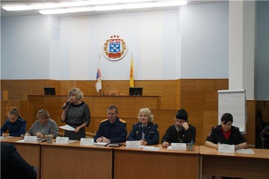 Проведено расширенное заседание комиссии по делам несовершеннолетних и защите их прав