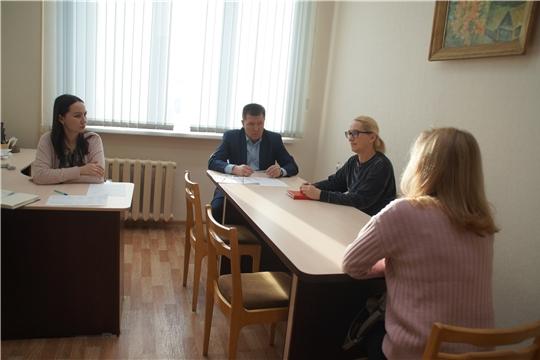 Глава администрации Калининского района Яков Михайлов провел прием граждан