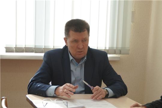 Прием граждан по личным вопросам проведет глава администрации Калининского района Михайлов Я.Л.