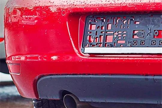 О недопустимости управления зарегистрированным автомобилем без регистрационных знаков