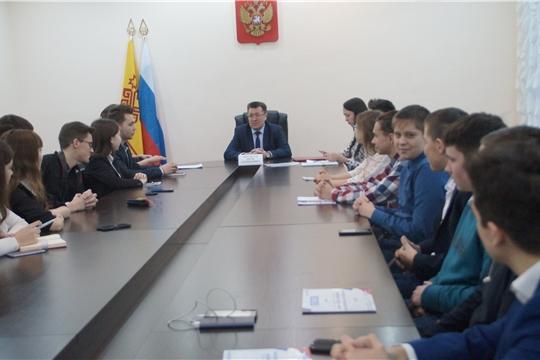 Подведены итоги работы Молодежного правительства при администрации Калининского района города Чебоксары за 2019 год