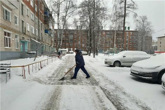 В Калининском районе города Чебоксары определили лучших дворников