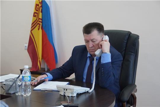 «Прямая линия»: глава администрации Калининского района г. Чебоксары обсудил с жителями актуальные городские темы