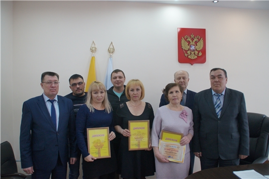 В Калининском районе города Чебоксары состоялось награждение победителей «Лучший дворник района» по итогам за февраль 2020 года