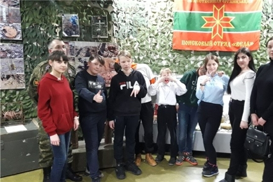 Воспитанники Чебоксарского центра для детей-сирот и детей, оставшихся без попечения родителей посетили военно-исторический музей