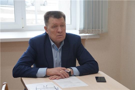 Глава администрации Калининского района Яков Михайлов провёл приём граждан