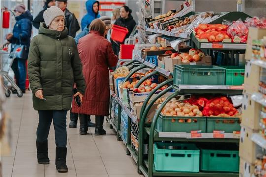 Дефицита товаров в чебоксарских магазинах нет и не будет