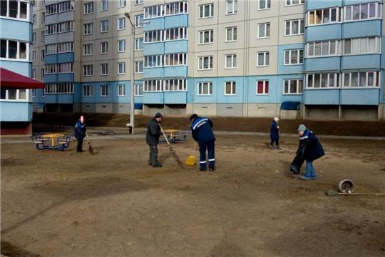 В Калининском районе проведен экологический субботник