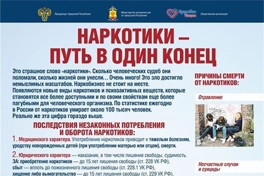 Общероссийская акция: «Сообщи, где торгуют смертью».