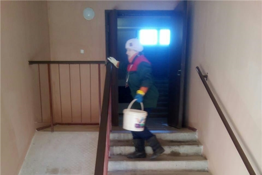 В Калининском районе города Чебоксары усилены противоэпидемические меры