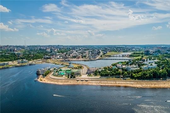 Город Чебоксары занял 1 место в ПФО по качеству городской среды