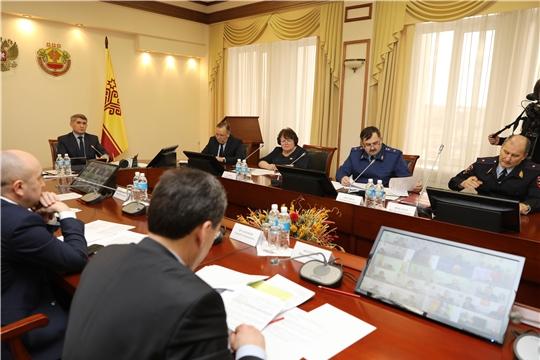 Оперативный штаб по коронавирусу обсудил новые предложения по борьбе с пандемией в Чувашии