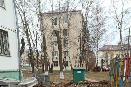 В городе Чебоксары начались работы по ремонту дорог