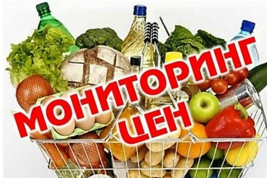 В городе Чебоксары проводится ежедневный мониторинг розничных цен