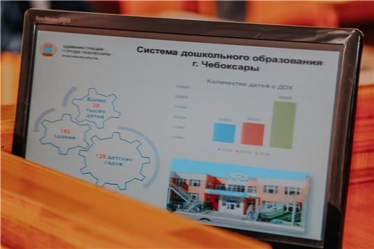 В Чебоксарах до 25 апреля принимаются документы для комплектования групп в детских садах на новый учебный год