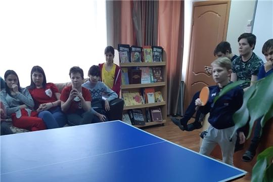 Соревнования по настольному теннису среди воспитанников центра