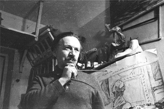 110 лет заслуженному художнику Российской Федерации Аркадию Акцынову