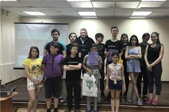 Для воспитанников Чебоксарского центра состоялся спортивный праздник «Веселые старты»