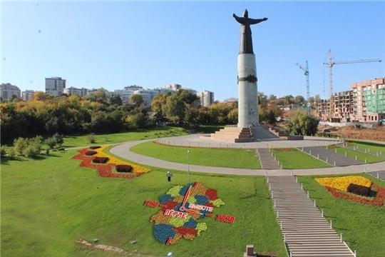В Чебоксарах у Монумента Матери готовится новый арт-объект к 100-летию Чувашской автономии