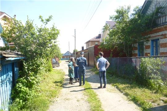 В городе Чебоксары провели день противопожарной профилактики