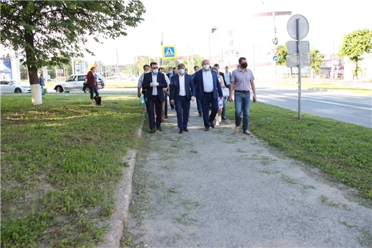 Продолжается подготовка города Чебоксары к празднованию 100-летия Чувашии.